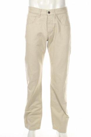 Мъжки панталон Stratt, Размер S, Цвят Бежов, Цена 15,87лв.