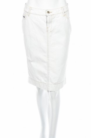 Пола John Richmond, Размер M, Цвят Бял, 100% памук, Цена 126,00лв.