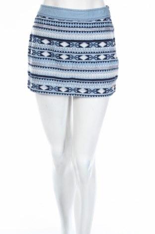 Φούστα Superdry, Μέγεθος S, Χρώμα Μπλέ, Βαμβάκι, Τιμή 7,17€