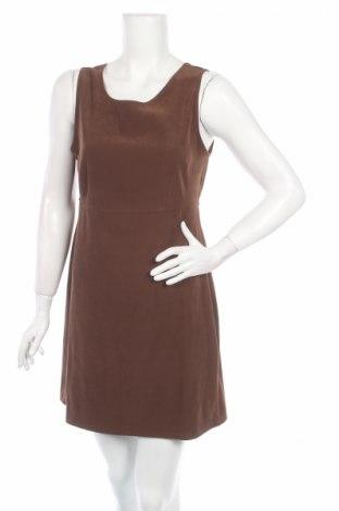Рокля St. Michael Marks & Spencer, Размер M, Цвят Кафяв, 97% полиестер, 3% еластан, Цена 17,68лв.