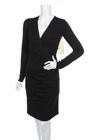 Šaty  Nicole Miller, Rozměr S, Barva Černá, 92% viskóza, 8% elastan, Cena  2255,00Kč