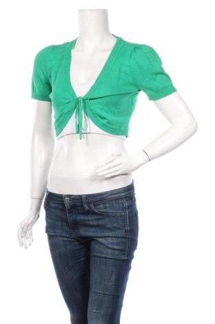 Болеро Orsay, Размер M, Цвят Зелен, 80% вискоза, 17% полиамид, 3% еластан, Цена 7,35лв.