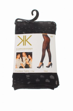 Чорапогащник - клин Kardashian Kollection, Размер XL, Цвят Черен, 92% полиамид, 8% еластан, Цена 29,40лв.