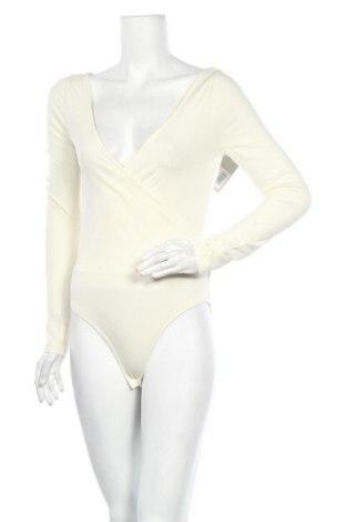 Дамска блуза - боди Even&Odd, Размер S, Цвят Екрю, 95% памук, 5% еластан, Цена 21,84лв.