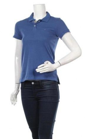 Γυναικείο t-shirt American Eagle, Μέγεθος XS, Χρώμα Μπλέ, 98% βαμβάκι, 2% ελαστάνη, Τιμή 7,09€