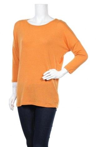 Γυναικεία μπλούζα Beloved, Μέγεθος M, Χρώμα Πορτοκαλί, 67% πολυεστέρας, 15% μεταλλικά νήματα, 13% βισκόζη, 5% ελαστάνη, Τιμή 4,68€