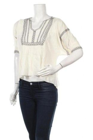 Γυναικεία μπλούζα Bik Bok, Μέγεθος XS, Χρώμα Εκρού, Βαμβάκι, Τιμή 5,54€