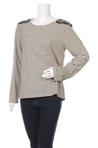 Γυναικεία μπλούζα Camaieu, Μέγεθος XL, Χρώμα  Μπέζ, 94% πολυεστέρας, 6% ελαστάνη, Τιμή 8,57€