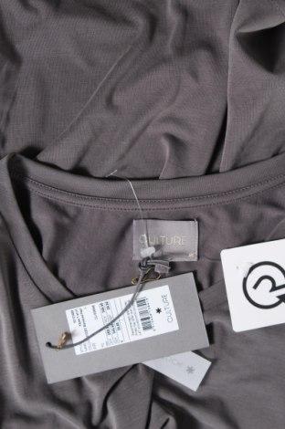 Дамска блуза Culture, Размер L, Цвят Сив, 70% модал, 30% полиестер, Цена 28,50лв.