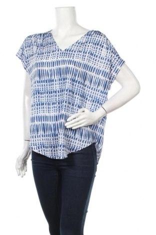 Дамска блуза DKNY, Размер S, Цвят Син, Полиестер, Цена 44,85лв.