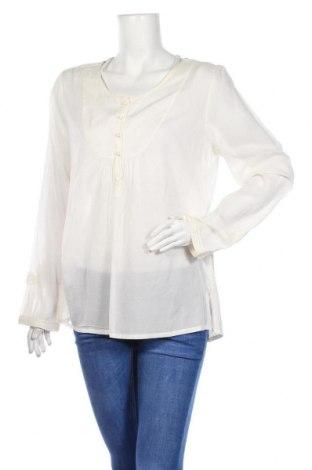 Γυναικεία μπλούζα Day Birger Et Mikkelsen, Μέγεθος L, Χρώμα Λευκό, 51% βισκόζη, 49% βαμβάκι, Τιμή 11,91€