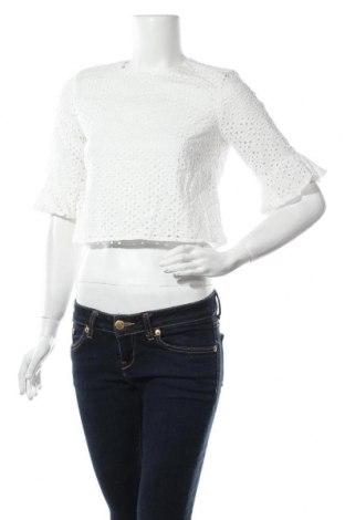 Γυναικεία μπλούζα Fashion Union, Μέγεθος S, Χρώμα Λευκό, 100% βαμβάκι, Τιμή 5,32€
