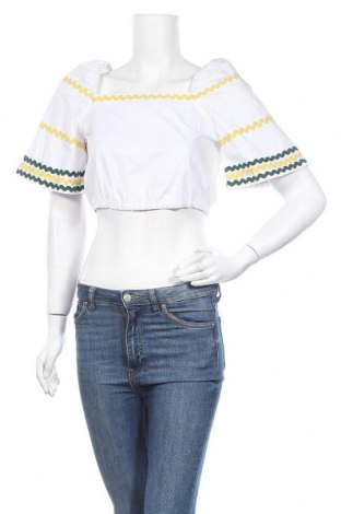 Γυναικεία μπλούζα Fashion Union, Μέγεθος M, Χρώμα Λευκό, Βαμβάκι, Τιμή 7,09€