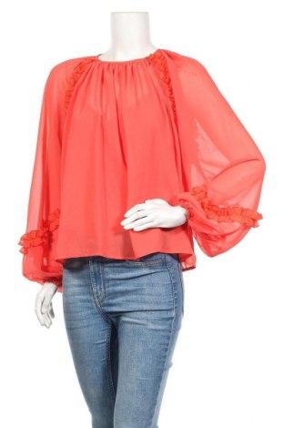 Дамска блуза Lost Ink, Размер L, Цвят Червен, Полиестер, Цена 17,34лв.