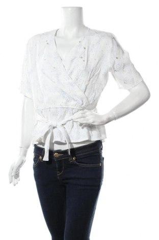 Γυναικεία μπλούζα Mbym, Μέγεθος L, Χρώμα Λευκό, Βισκόζη, Τιμή 15,14€
