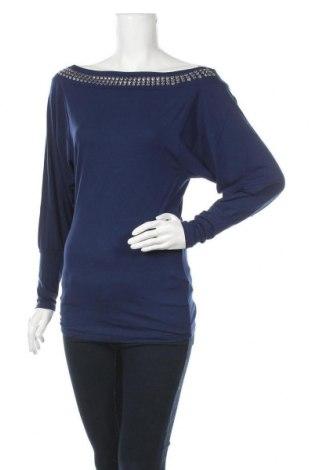 Γυναικεία μπλούζα Melrose, Μέγεθος XS, Χρώμα Μπλέ, 95% βισκόζη, 5% ελαστάνη, Τιμή 5,85€