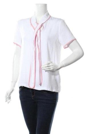 Γυναικεία μπλούζα Mint & Berry, Μέγεθος M, Χρώμα Λευκό, Βισκόζη, Τιμή 4,88€
