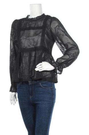 Γυναικεία μπλούζα Molly Bracken, Μέγεθος M, Χρώμα Μαύρο, Πολυεστέρας, βαμβάκι, βισκόζη, Τιμή 11,36€