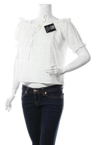 Γυναικεία μπλούζα Nly Trend, Μέγεθος XS, Χρώμα Λευκό, Βαμβάκι, Τιμή 5,76€