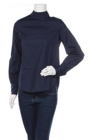 Дамска блуза Noisy May, Размер XS, Цвят Син, 100% памук, Цена 14,70лв.