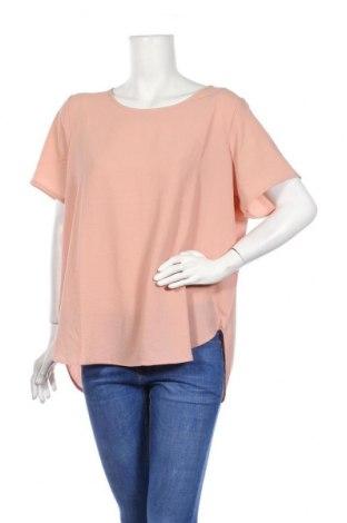 Дамска блуза Only Carmakoma, Размер XL, Цвят Розов, 97% полиестер, 3% еластан, Цена 18,90лв.
