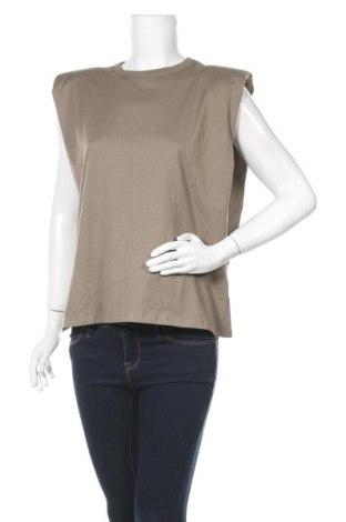 Дамска блуза Pull&Bear, Размер S, Цвят Зелен, Памук, Цена 14,00лв.