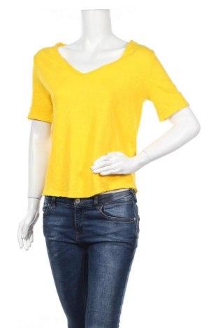 Дамска блуза Rich & Royal, Размер S, Цвят Жълт, Памук, Цена 46,02лв.