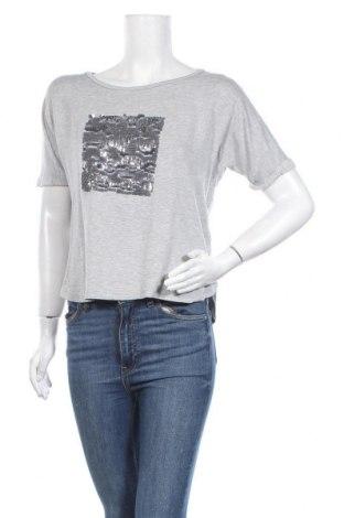 Дамска блуза Rich & Royal, Размер L, Цвят Сив, 97% вискоза, 3% еластан, Цена 22,68лв.