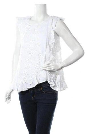 Дамска блуза River Island, Размер M, Цвят Бял, 100% полиестер, Цена 13,00лв.