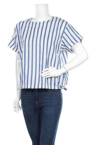 Γυναικεία μπλούζα Sisley, Μέγεθος S, Χρώμα Πολύχρωμο, 62% βαμβάκι, 33% πολυαμίδη, 5% ελαστάνη, Τιμή 8,62€