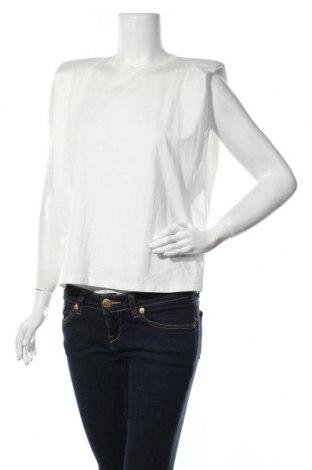Γυναικεία μπλούζα Trendyol, Μέγεθος XS, Χρώμα Λευκό, Βαμβάκι, Τιμή 7,54€
