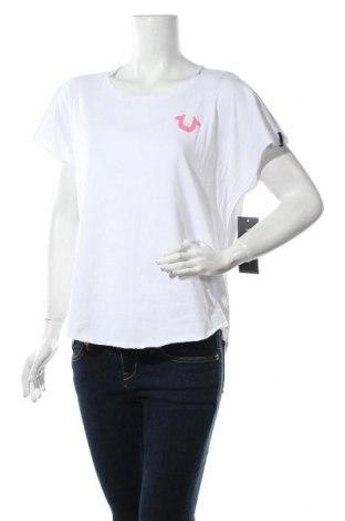 Дамска блуза True Religion, Размер M, Цвят Бял, Памук, Цена 33,12лв.