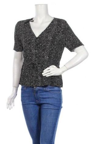 Дамска блуза Warehouse, Размер L, Цвят Черен, Вискоза, Цена 27,30лв.