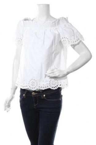 Дамска блуза Warehouse, Размер M, Цвят Бял, Памук, Цена 28,60лв.
