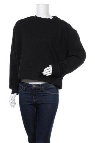 Дамска блуза Weekday, Размер S, Цвят Черен, 80% памук, 20% полиестер, Цена 23,32лв.