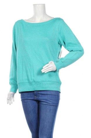 Дамска блуза Xersion, Размер L, Цвят Син, 66% памук, 18% полиестер, 10% полиамид, 6% метални нишки, Цена 40,95лв.