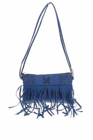 Дамска чанта, Цвят Син, Еко кожа, Цена 8,82лв.