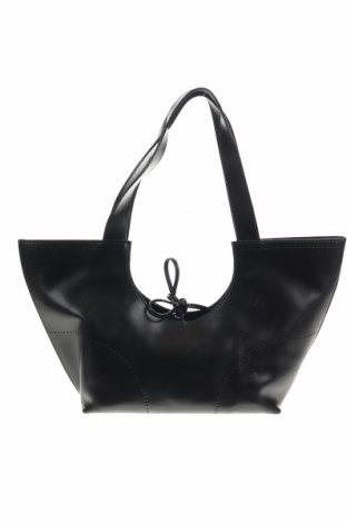 Дамска чанта Furla, Цвят Черен, Естествена кожа, Цена 119,04лв.