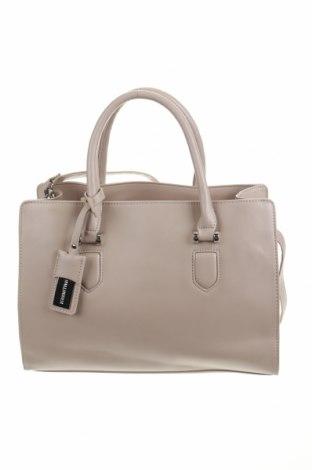 Дамска чанта Hallhuber, Цвят Бежов, Еко кожа, Цена 75,60лв.