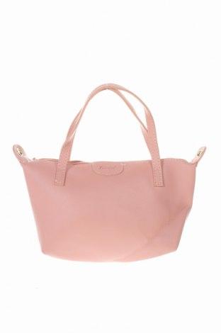 Дамска чанта Kimbel, Цвят Розов, Еко кожа, Цена 6,83лв.