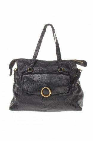 Дамска чанта Oroton, Цвят Черен, Естествена кожа, Цена 81,90лв.