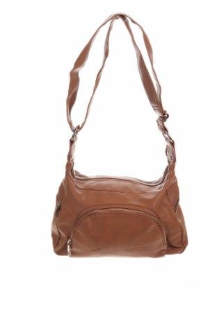 Дамска чанта Sportsgirl, Цвят Кафяв, Еко кожа, Цена 26,46лв.