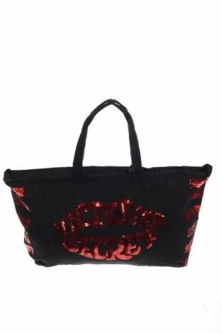 Γυναικεία τσάντα Victoria's Secret, Χρώμα Μαύρο, Κλωστοϋφαντουργικά προϊόντα, Τιμή 38,26€