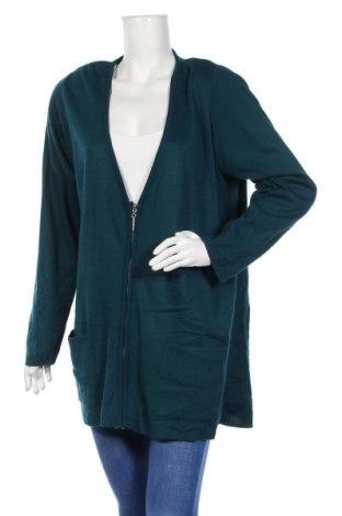 Γυναικεία ζακέτα, Μέγεθος S, Χρώμα Πράσινο, Ακρυλικό, Τιμή 7,27€