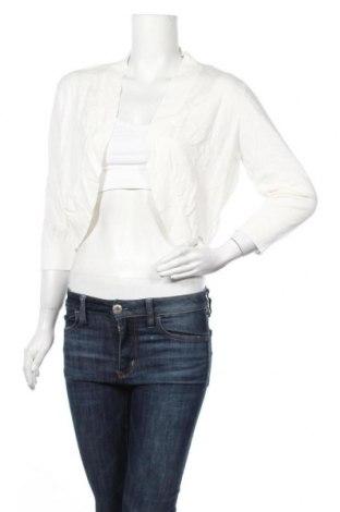 Дамска жилетка More & More, Размер L, Цвят Бял, 73% вискоза, 27% полиамид, Цена 40,50лв.