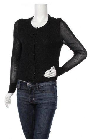 Дамска жилетка Target, Размер M, Цвят Черен, Вискоза, полиестер, метални нишки, Цена 28,32лв.