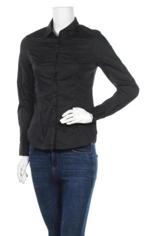 Дамска риза, Размер XS, Цвят Черен, Цена 11,04лв.