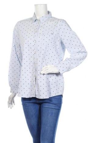 Γυναικείο πουκάμισο G.W., Μέγεθος L, Χρώμα Μπλέ, 72% βαμβάκι, 25% πολυαμίδη, 3% ελαστάνη, Τιμή 14,84€