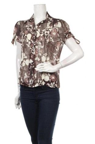 Дамска риза Isolde, Размер M, Цвят Кафяв, Полиестер, Цена 22,00лв.