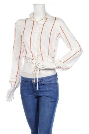Дамска риза Miss Selfridge, Размер XS, Цвят Бял, Памук, Цена 40,50лв.